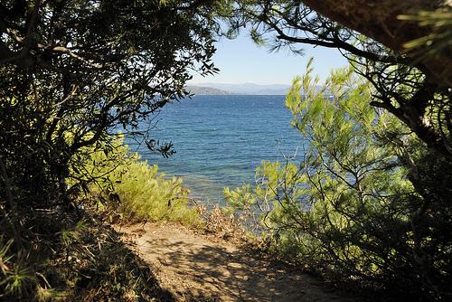 Randonnée au bord de la côte d'azur by pizzichiniclaudio
