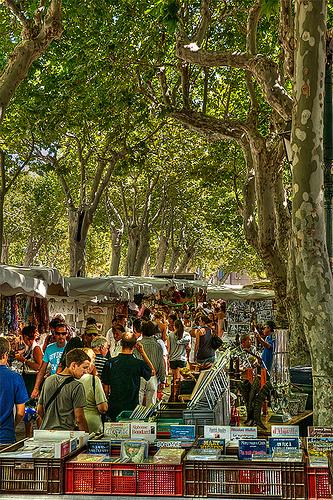 Marché Provencal à Saint-Tropez by lucbus