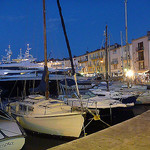 Evening in St Tropez by  - St. Tropez 83990 Var Provence France
