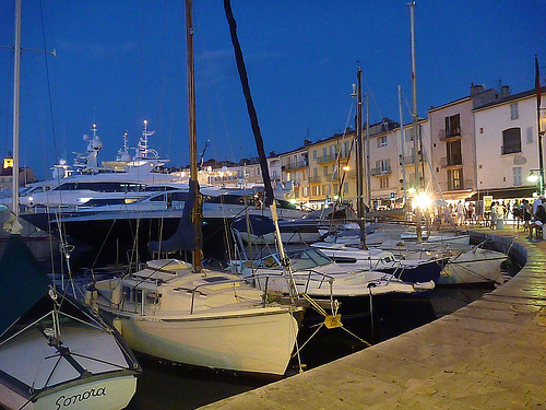 Evening in St Tropez by Steph Wright