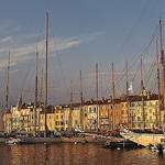 Coucher de soleil sur le port de Saint Tropez by Rideuz' - St. Tropez 83990 Var Provence France