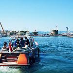 Promenade en bateau à Saint-Tropez by . SantiMB . - St. Tropez 83990 Var Provence France