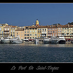 Le port et la ville de Saint-Tropez by  - St. Tropez 83990 Var Provence France