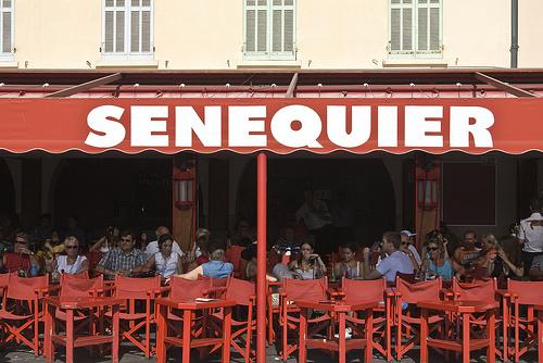 La terrasse du Sénéquier by Massimo Battesini