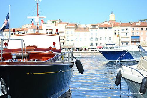 Port de Saint-Tropez par DesignMg