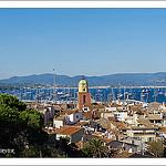 Le clocher mythique de Saint-Tropez by PUIGSERVER JEAN PIERRE - St. Tropez 83990 Var Provence France