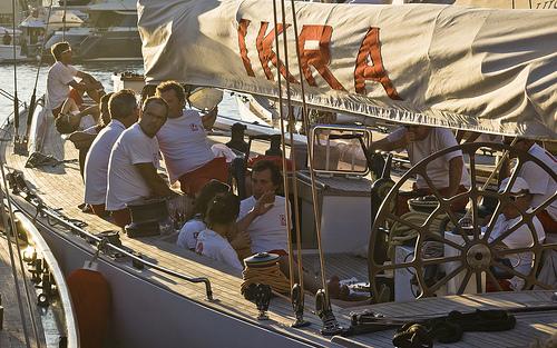 Les marins d'Ikra par Rideuz'