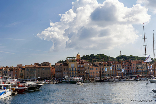 Port de Saint-Tropez by PUIGSERVER JEAN PIERRE
