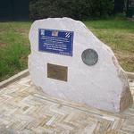 Stèle commémorative. Sainte-Anastasie-sur-Issole, Var. par Only Tradition - Ste. Anastasie sur Issole 83136 Var Provence France