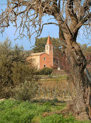 Eglise Sainte-Anne - Le Castellet par Charlottess