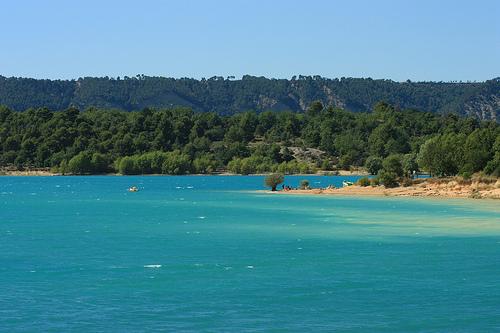 Intense Blue & Green - The lake of Sainte Croix par Carine.C