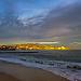 Coucher de soleil précis sur Ste Maxime par Matiou83 - Sainte Maxime 83120 Var Provence France