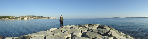 Panorama sur la Baie de Sainte Maxime by csibon43