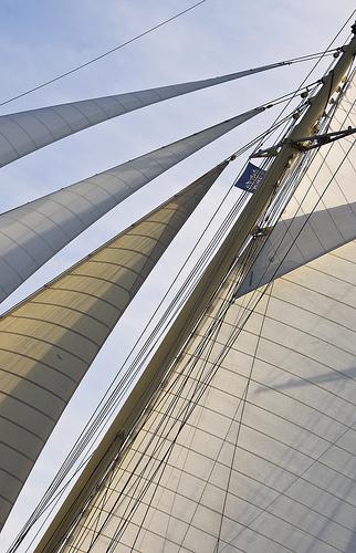 Les voiles de l'Atlantique par Rideuz'