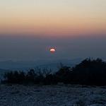 Coucher de Soleil sur le Canigou depuis le Var par bruno carrias - Toulon 83000 Var Provence France