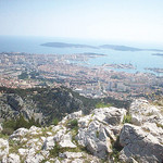 Vue sur Toulon. Mont Faron, Toulon. by  - Toulon 83000 Var Provence France
