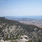 Vue sur Toulon depuis le Mont Faron by  - Toulon 83000 Var Provence France