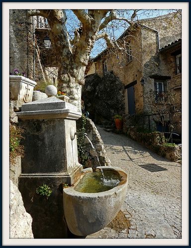 Fontaine de la Placette by myvalleylil1
