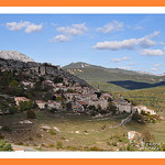 Village de Trigance by  - Trigance 83840 Var Provence France