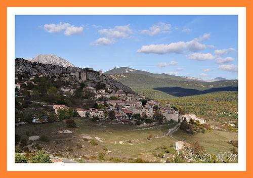 Village de Trigance par SUZY.M 83