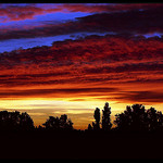 Ciel de feu au dessus de Saint-Raphael par Patchok34 -   Var Provence France