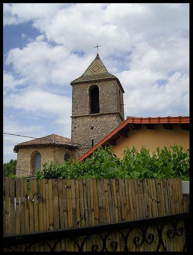 Varages - clocher de l'église by Renaud Sape