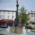 Fontaine, Place de l'Hôtel de Ville, Vidauban, Var. by Only Tradition - Vidauban 83550 Var Provence France