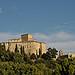 le Château d'Ansouis et chapelle romane à contreforts by La Enry - Ansouis 84240 Vaucluse Provence France