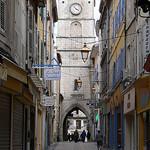 Tour de l'Horloge et la Rue des Marchands par Jean NICOLET - Apt 84400 Vaucluse Provence France