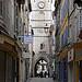 Tour de l'Horloge et la Rue des Marchands by Jean NICOLET - Apt 84400 Vaucluse Provence France