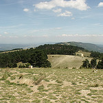 View from Mourre Nègre over Grand Luberon ridge by george.f.lowe - Auribeau 84400 Vaucluse Provence France