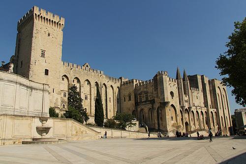 Palais des Papes d'Avignon par Meteorry