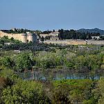 Muraille de Villeneuve lez Avignon vue du rocher des Doms par christian.man12 - Avignon 84000 Vaucluse Provence France