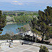 Rocher des Doms : table d'orientation par gab113 - Avignon 84000 Vaucluse Provence France