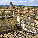 Avignon, place du palais des papes et les toits d'Avignon by avz173 - Avignon 84000 Vaucluse Provence France