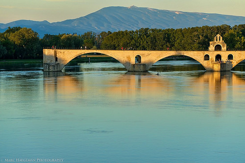 Le Mont-Ventoux à 60km du pont d'Avignon... par Marc Haegeman Photography