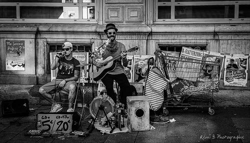 Festival d'Avignon 2016 - musique de rue by Rémi Avignon