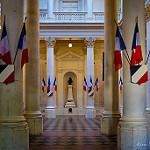 Intérieur de la Mairie d'Avignon par Rémi Avignon - Avignon 84000 Vaucluse Provence France