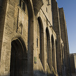 Entrée du Palais des Papes d'Avignon par cpqs - Avignon 84000 Vaucluse Provence France