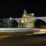 Pont Saint Bénezet by night par  - Avignon 84000 Vaucluse Provence France