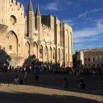 Festival d'Avignon 2017 : devant le palais des papes by gab113 - Avignon 84000 Vaucluse Provence France