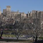 Ligne d'horizon d'Avignon par Laurent2Couesbouc - Avignon 84000 Vaucluse Provence France