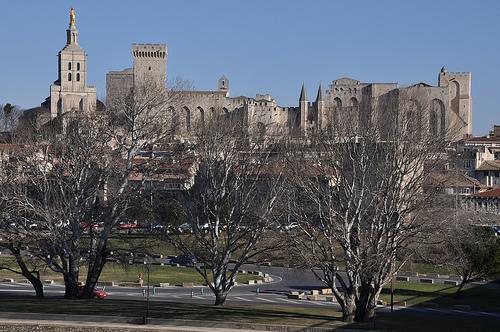 Ligne d'horizon d'Avignon par Laurent2Couesbouc