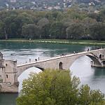 Sur le pont d'Avignon... par Anna Sikorskiy - Avignon 84000 Vaucluse Provence France