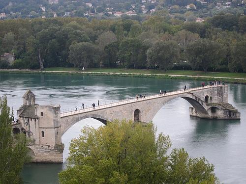Sur le pont d'Avignon... par Anna Sikorskiy