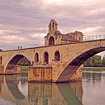 Pont Saint-Benezet (aka le pont d'Avignon) par strawberrylee - Avignon 84000 Vaucluse Provence France