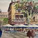 Brasserie - Aquarelle à Avignon by skschang - Avignon 84000 Vaucluse Provence France