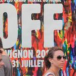 Festival d'Avignon - Le OFF par gab113 - Avignon 84000 Vaucluse Provence France