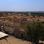 Vue sur Avignon du Palais des Papes by ronel_reyes - Avignon 84000 Vaucluse Provence France