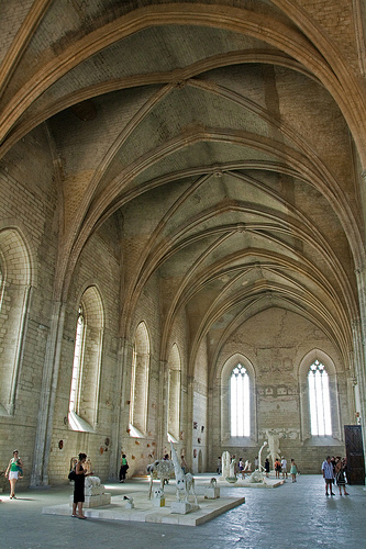 Grand Chapel - Palais des Papes par ronel_reyes